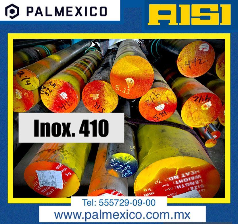 ACERO INOXIDABLE 410